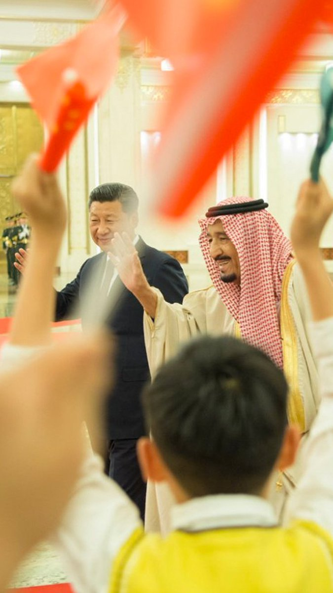 Chinese President has assured King Salman that Beijing is eager for a strategic cooperation with Saudi Arabia