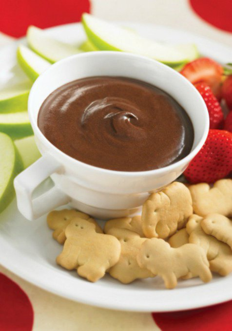 Brownie Batter Dip In A Mug #Recipe