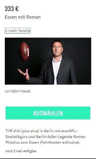 #rannfl:   Beteilige dich am Crowdfunding der @BerlinAdler, und sichere dir u.a. ein Abendessen mit @RomanMotzkus. https://t.co/27FUXU0wIy https://t.co/YCnaPXV4LB