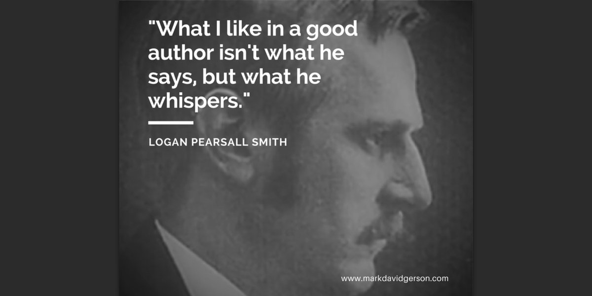 """What I like in a good author isn't what he says, but what he whispers."" #writing #writerslife #quote https://t.co/QSrv2ACS7P"