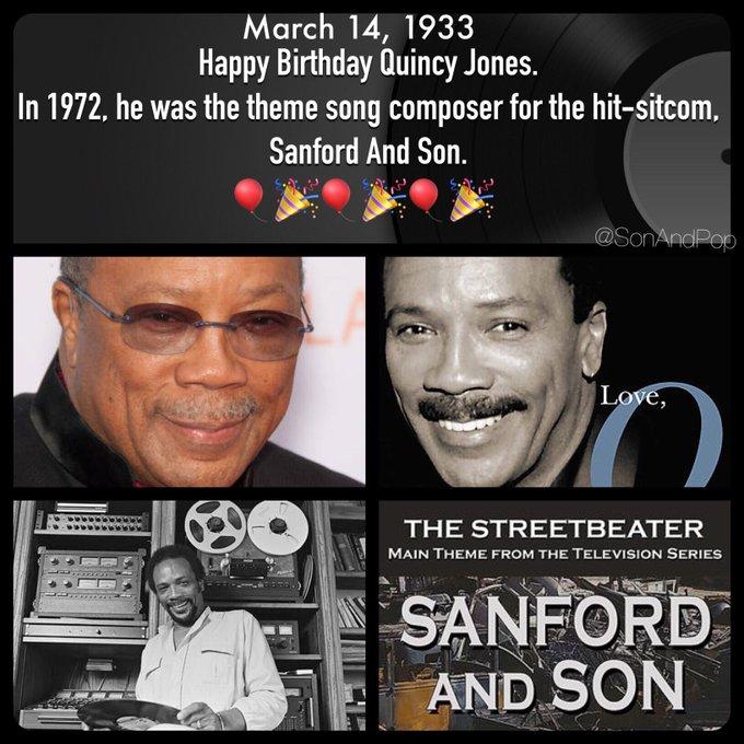 Happy Belated Birthday to Quincy Jones.