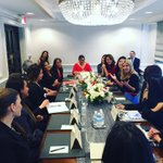 USHCC was delighted to host @IvankaTrump for a roundtable discussion w/ Hispanic women biz owners today in Washington #USHCCLegislative