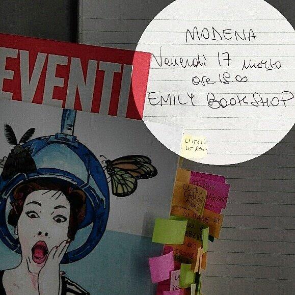 Perché anche se è #ven17! Doppie punte: domani alle 18.00 @emilybookshop di Modena #michelelamacchia #libri #DDPP #venitecornuti<br>http://pic.twitter.com/4RdCxEzyer