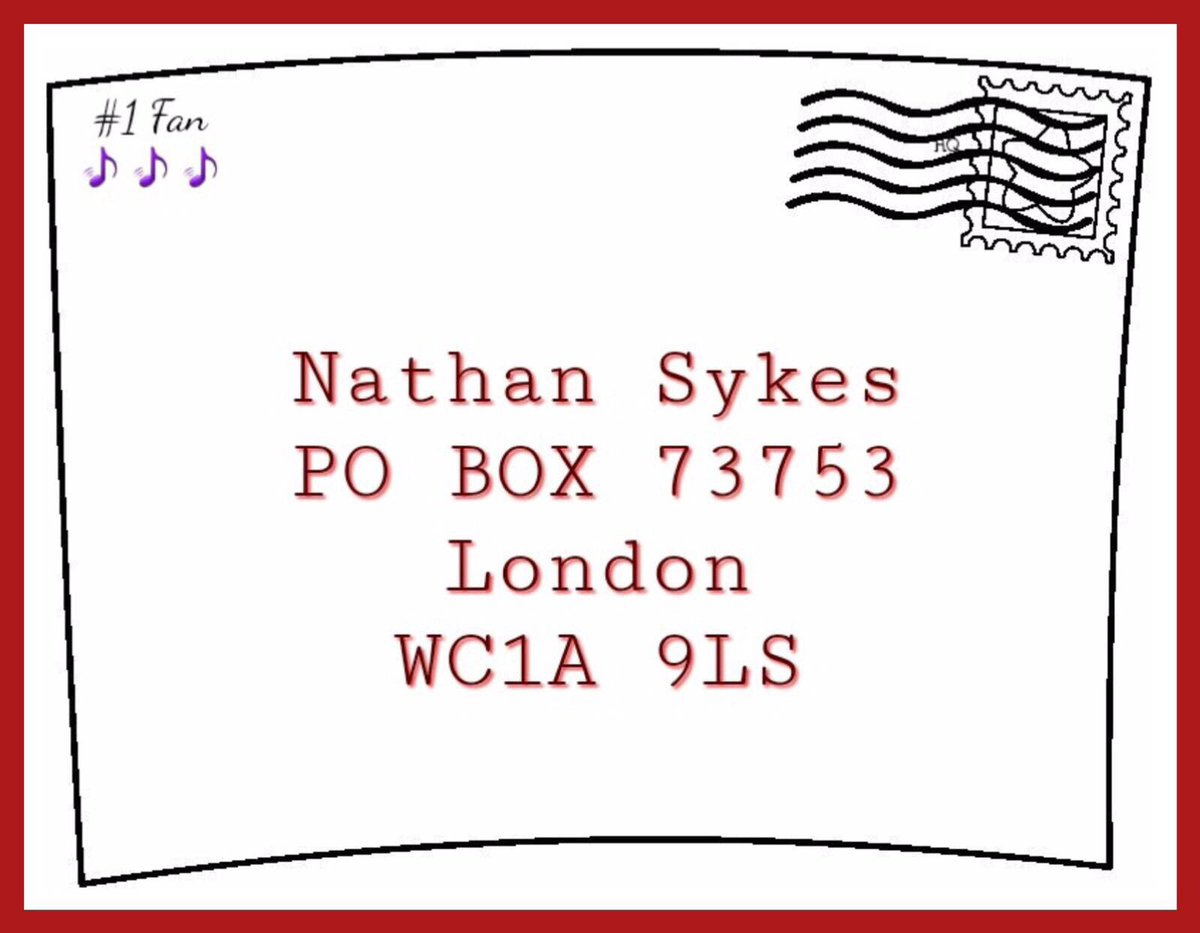 addressing a letter to a po box  letter