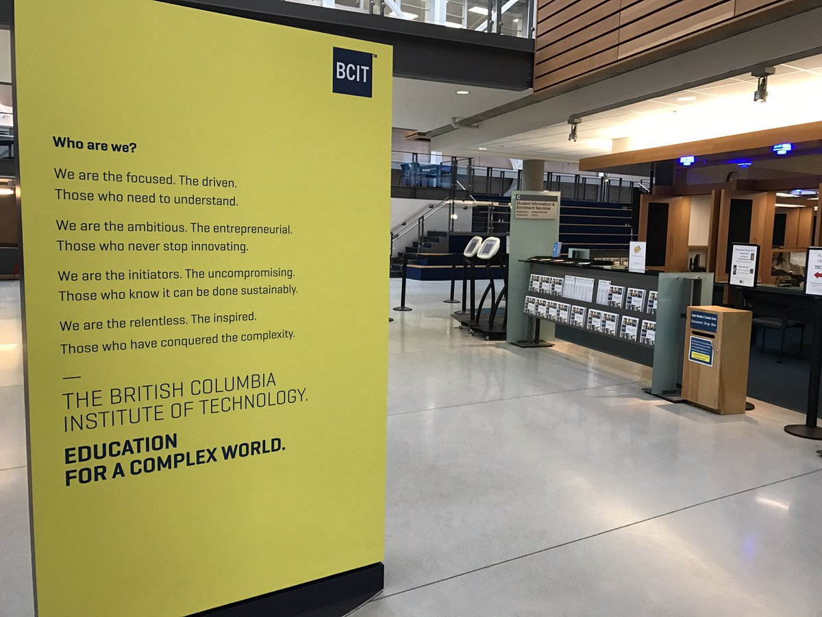 British Columbia Institute Of Technology Bcit On Twitter Love Seeing Our New Manifesto Loud And Proud In Sw1 Bcitforacomplexworld
