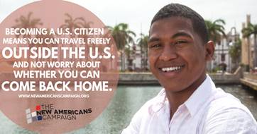 Why become a naturalized citizen? It gives you a chance to travel freely. Learn more at https://t.co/wATHLXzUto #NewAmericans https://t.co/WMIk9EgJdw