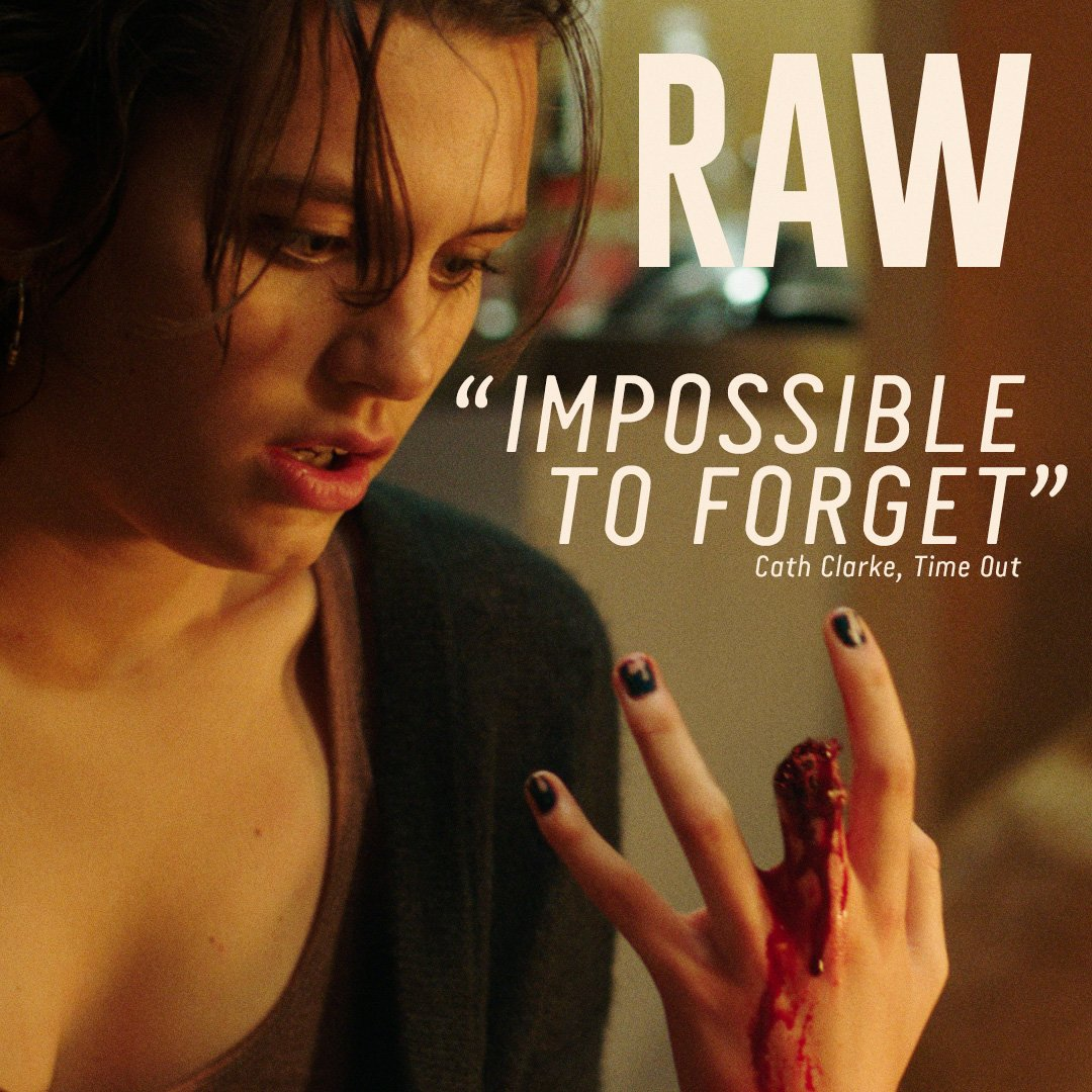 Visceral and haunting. Book your tickets for #RAW now. https://t.co/2g...