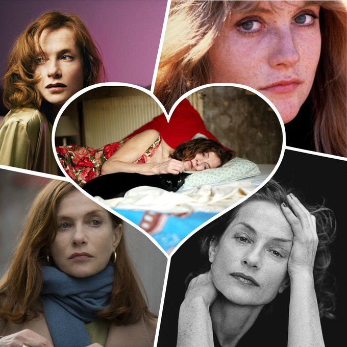 Cinema icon. Legend. Oscar nominee. Happy Birthday, Isabelle Huppert!