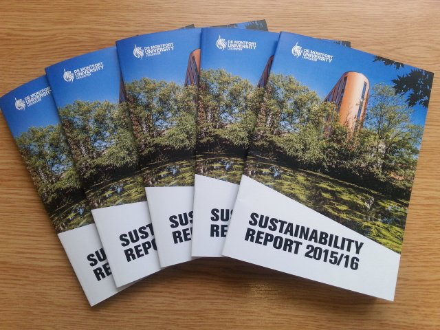 We're launching our Sustainability Report 15/16 for #DMU Earth Week https://t.co/0bCPB4ROHk Come  to Hugh Aston 2.08 1pm Tue 21 Mar for more https://t.co/b2po3ddy55