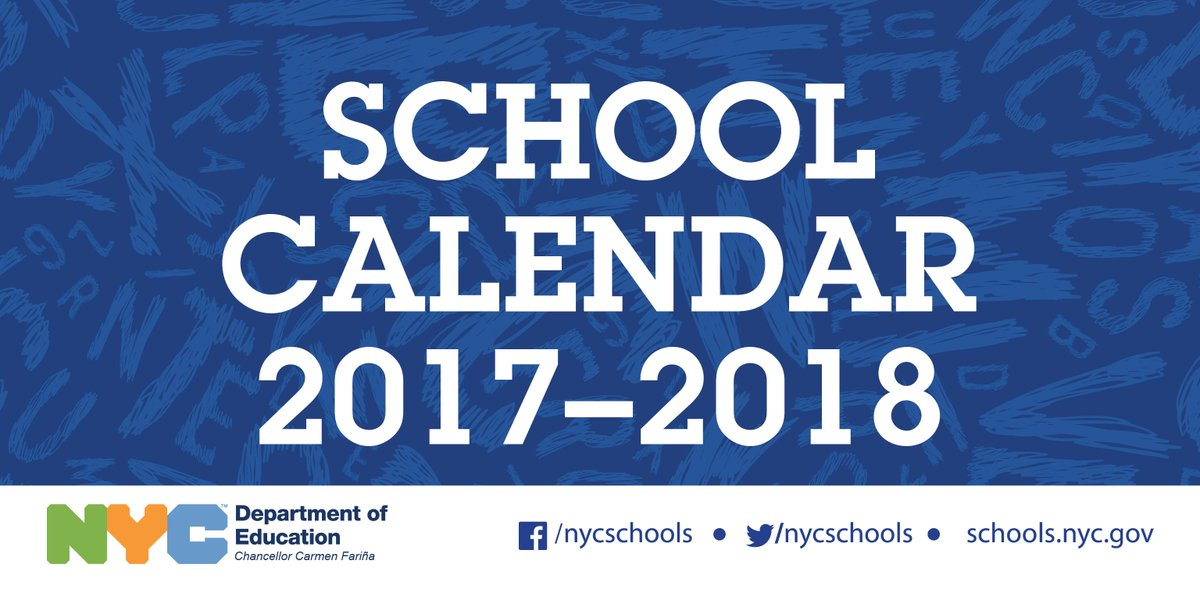 Nyc Public Schools On Twitter New View The Calendar For The