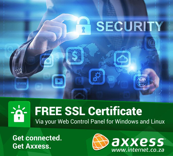 Axxess On Twitter Host Your Website With Us And Get A Free Ssl
