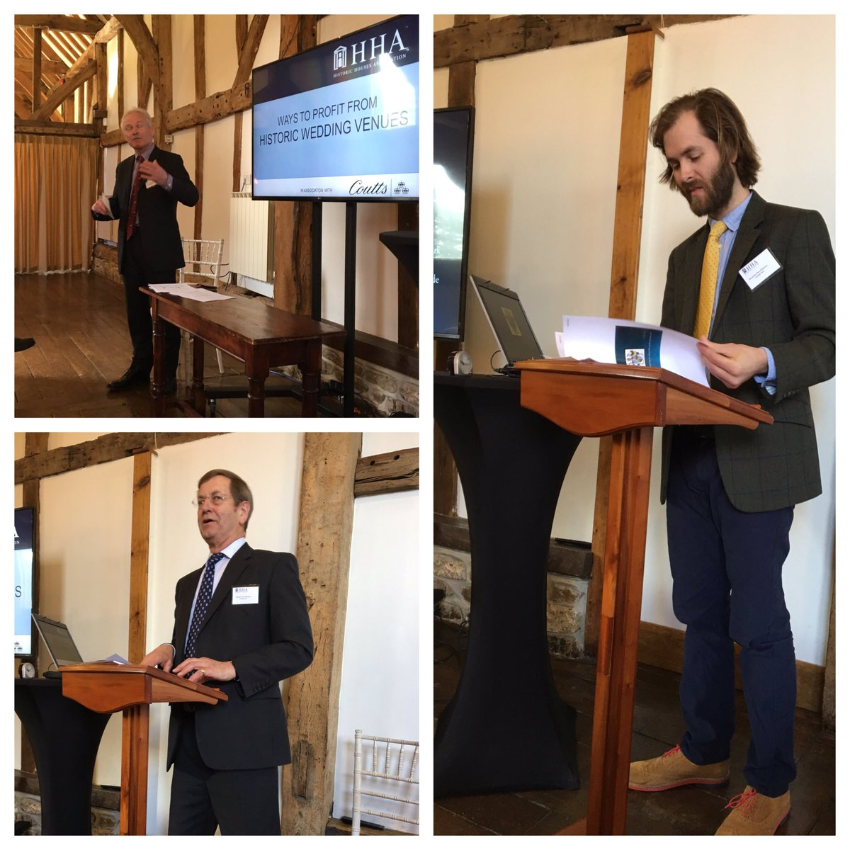 RT @Browsholme Hello @LancsWedHour Yesterday we were at @LoseleyPark involved in an @Historic_Houses seminar on weddings. Fascinating stuff. #lancswedhour