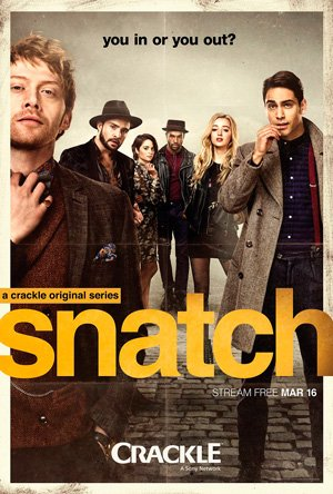 Make sure you're in! @Snatch starring @ItsLucien is available to stream today