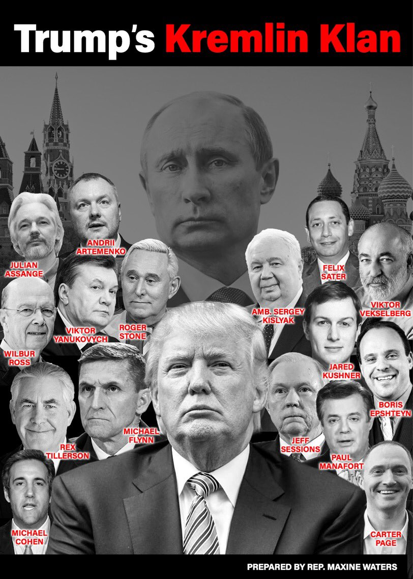 Meet @realDonaldTrump's #KremLINKlan: