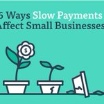 Our latest #infographic is up! 6 Ways Slow Payments Affect Small Businesses https://t.co/VT5zO4DPoG #smallbusiness