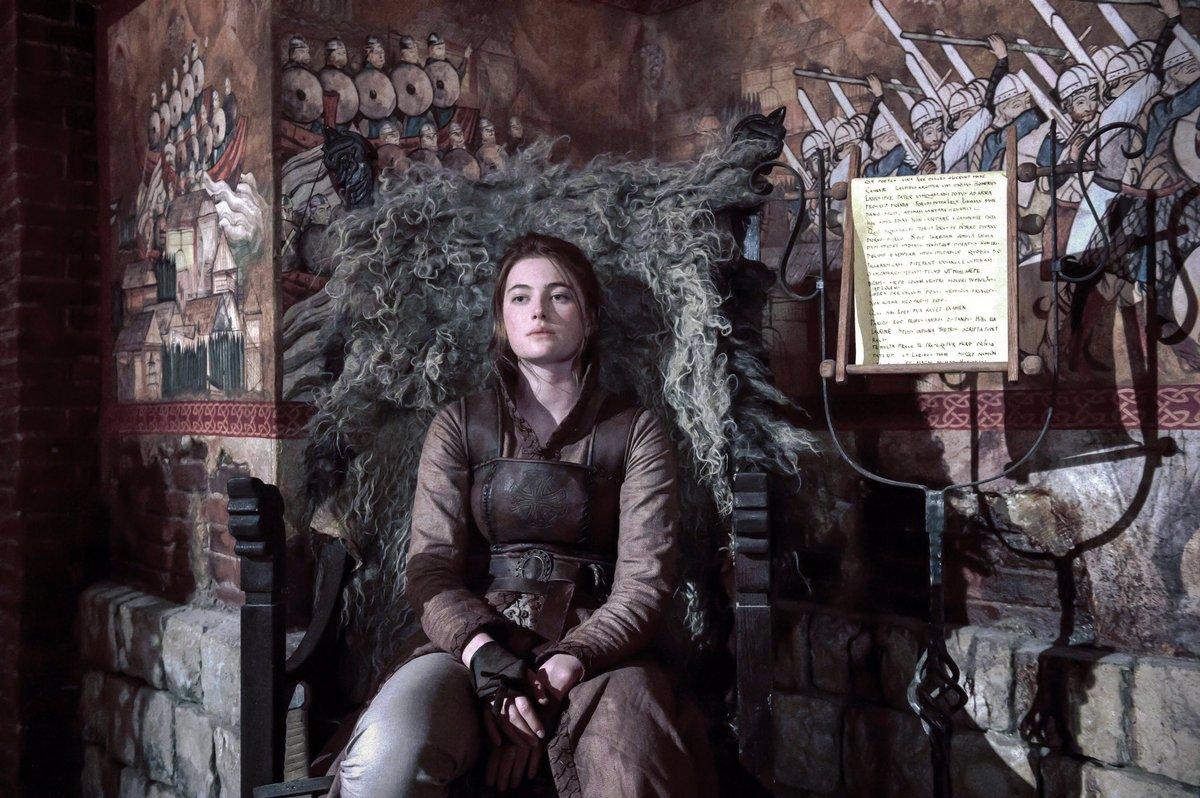 "3 Temporada De The Last Kingdom millie brady on twitter: ""the last kingdom begins tonight @9"