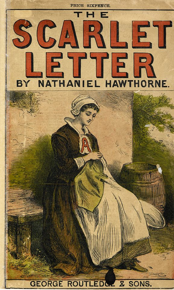 a review of nathaniel hawthornes novel the scarlet letter Nathaniel hawthorne (/ ˈ h ɔː θ ɔːr n / né hathorne july 4, 1804 - may 19, 1864) was an american novelist, dark romantic, and short story writer he was born in 1804 in salem, massachusetts to nathaniel hathorne and the former elizabeth clarke manning.