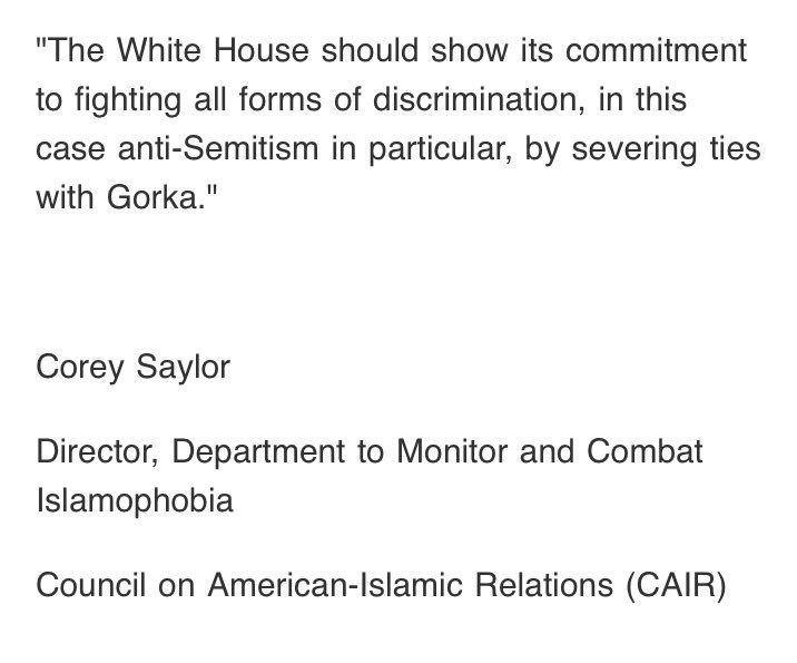 Statement from @SaylorCorey at @CAIRNational: https://t.co/v4vgn3aQ9R