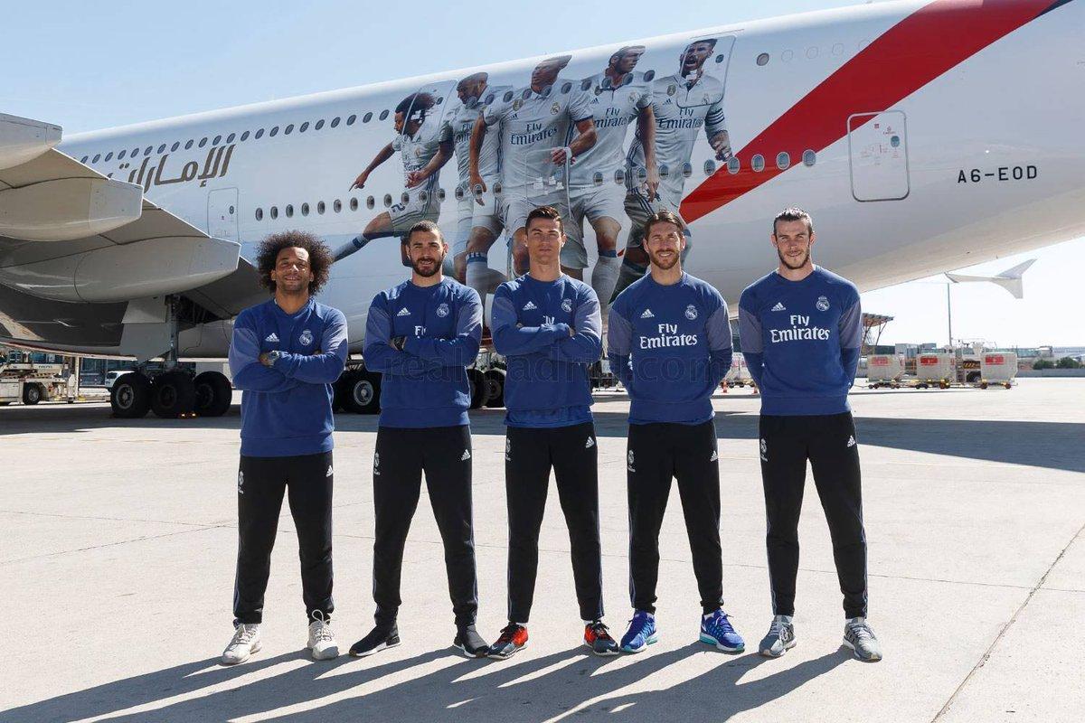 El Real Madrid renovó con Emirates hasta 2022 y recibirá 70 millones al año
