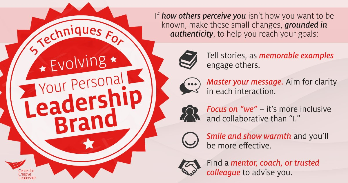 Center For Creative Leadership On Twitter What S Your Leadership Reputation What Do You Aspire For It To Be How To Strengthen Your Personal Brand Https T Co 7bh6ilqswx Https T Co Rzbmvge0cm