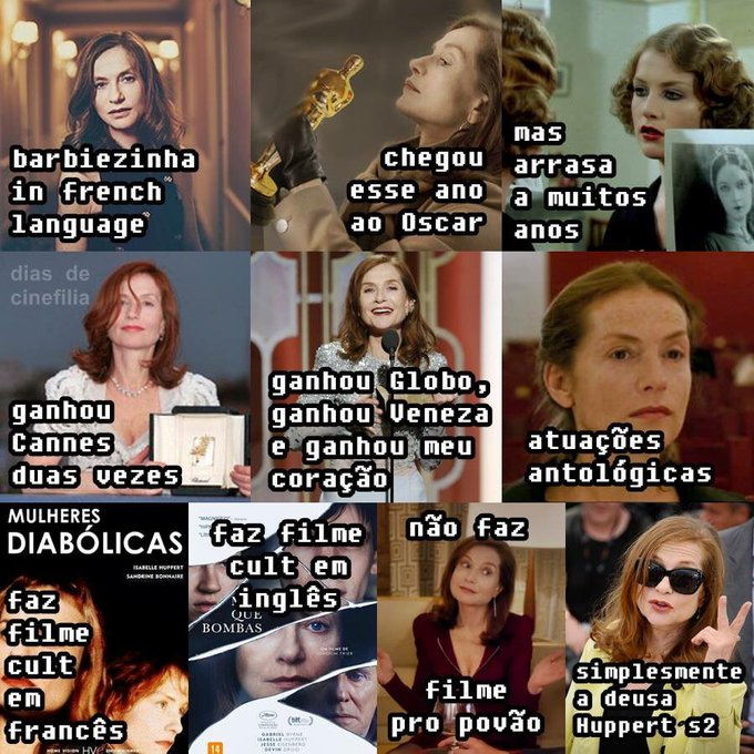 Happy Birthday Isabelle Huppert