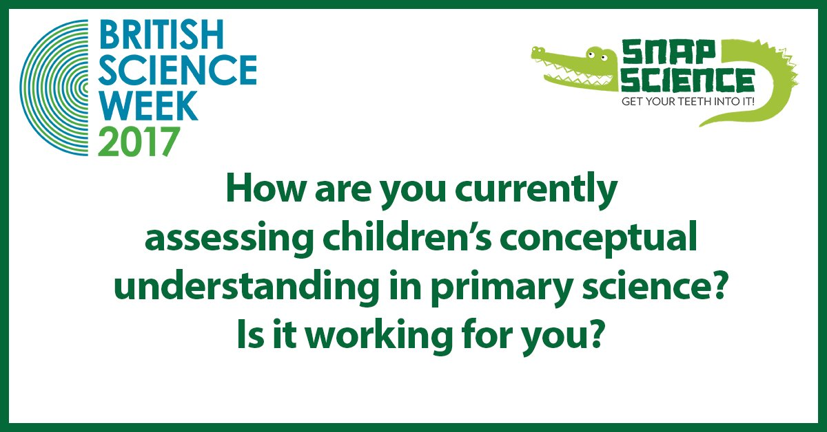 .@priscigeeks wants to know:  how are you currently assessing children's conceptual understanding in primary science? #CollinsBSW17 #BSW17 https://t.co/T9NwU0gzjn