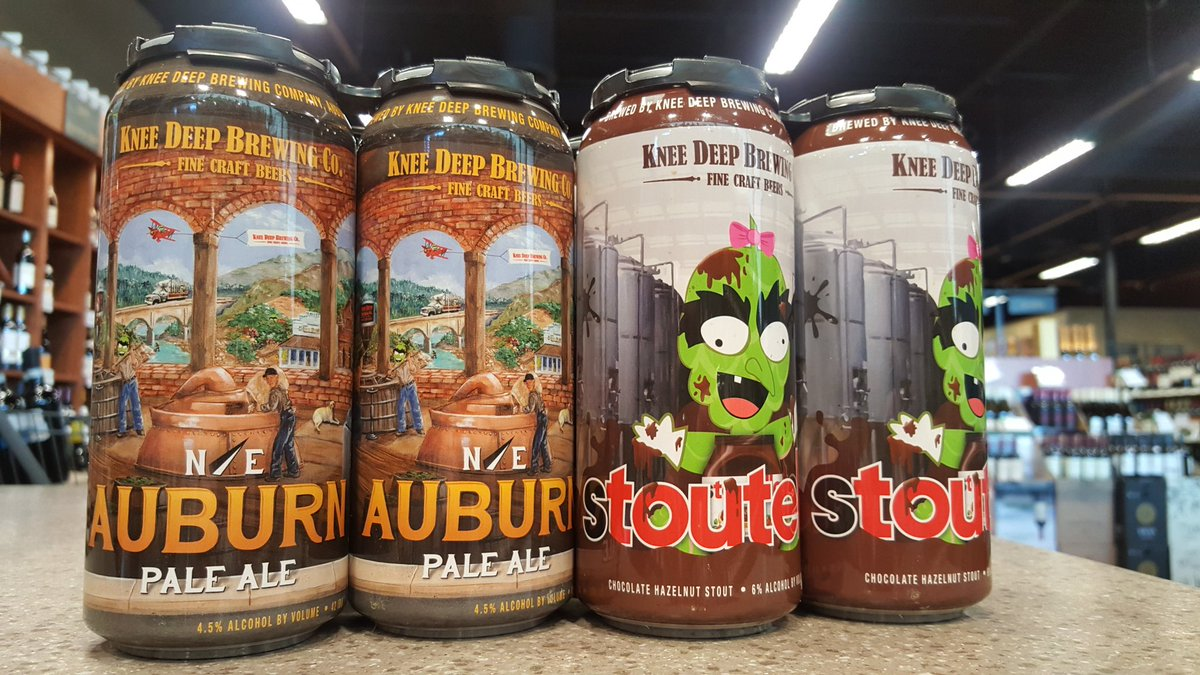 """Andover Classic Wine on Twitter: """"Knee deep cans now avaliable @KneeDeepBrewing https://t.co/8vKlpFImd3"""""""