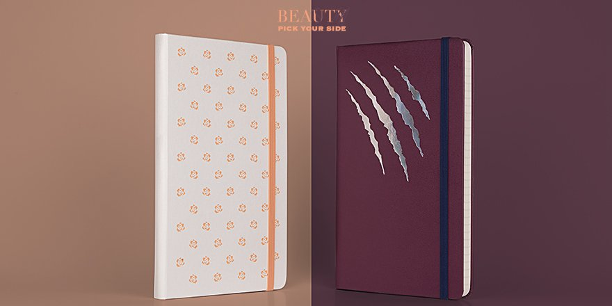 Thumbnail for Moleskine Beauty and the Beast Limited Edition Notebooks