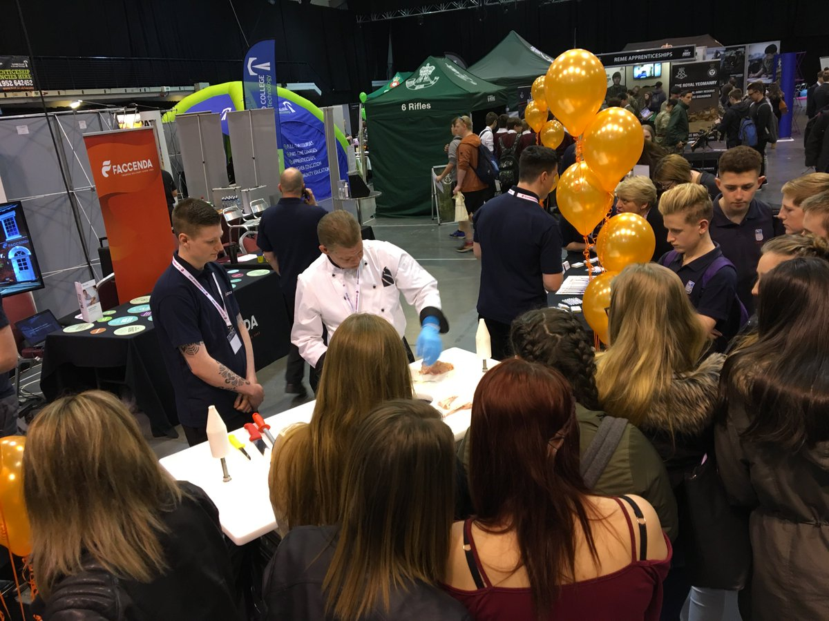 faccenda careers faccendacareers twitter we ve had a great day at the telford apprenticeship show telling people more about the exciting new opportunities faccenda tas17pic twitter com