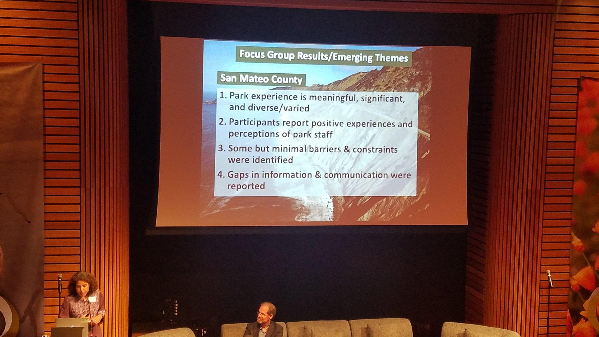 @NPSUrban Advisor Dr. Nina Roberts kicks off the @BA_OpenSpace  #OSCMarchGathering #NPSUrban @RecParksTourism https://t.co/TNxkaeoSaL