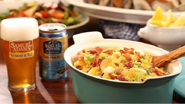 Beer and Bacon Potato Salad