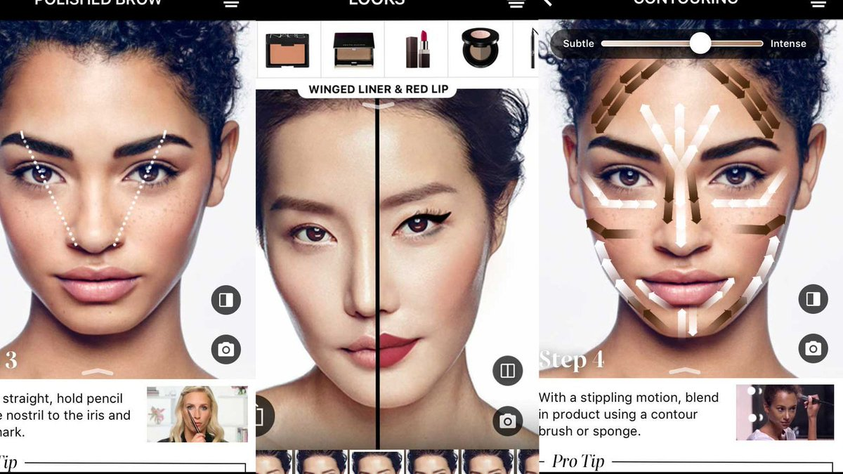 Sephora's latest app update lets you try virtual makeup on at home with AR