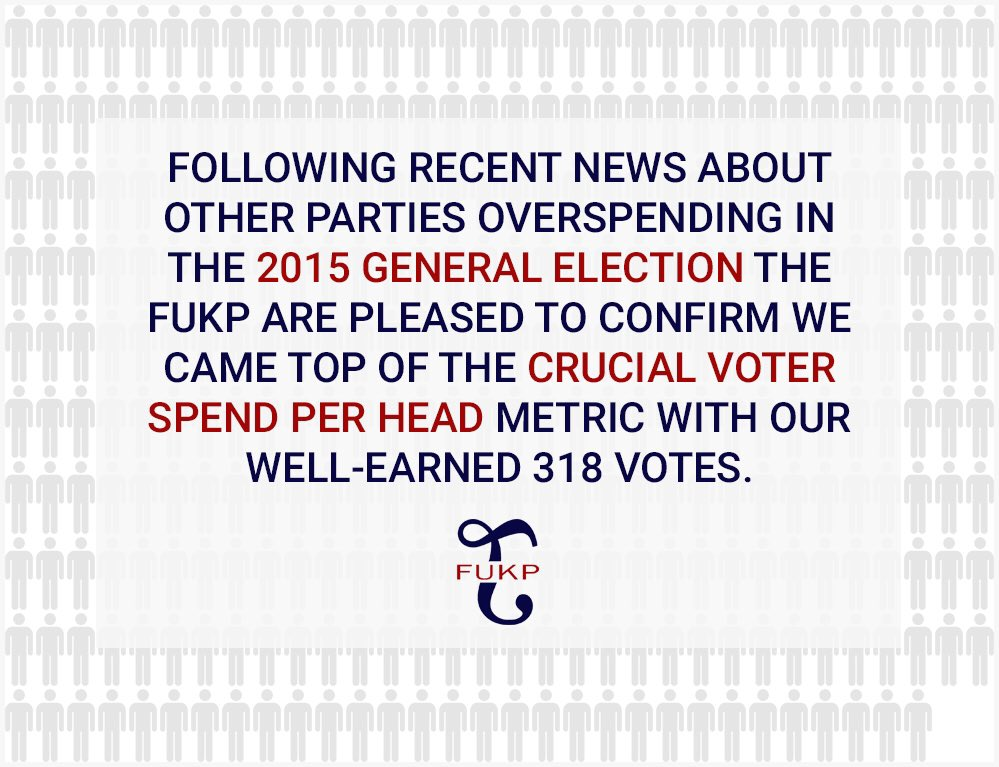 RT @thepublandlord: #FUKP statement on general election spending. https://t.co/nscKmGIeTL