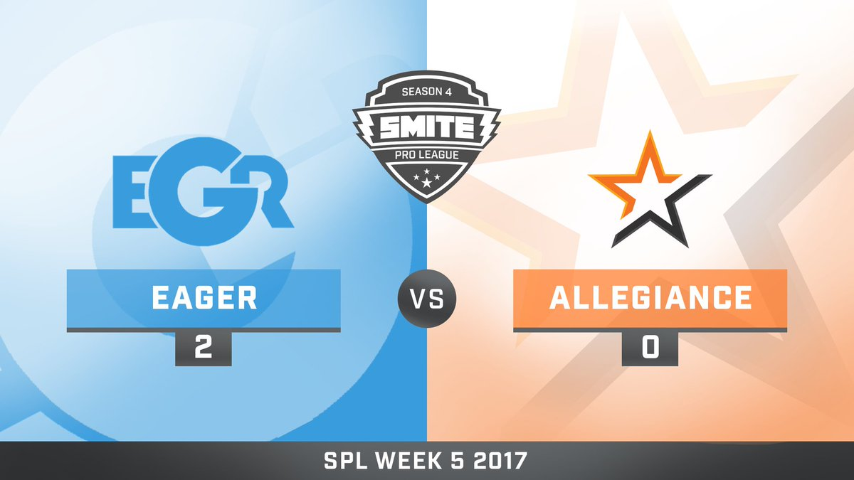 Team Eager vs Team Allegiance