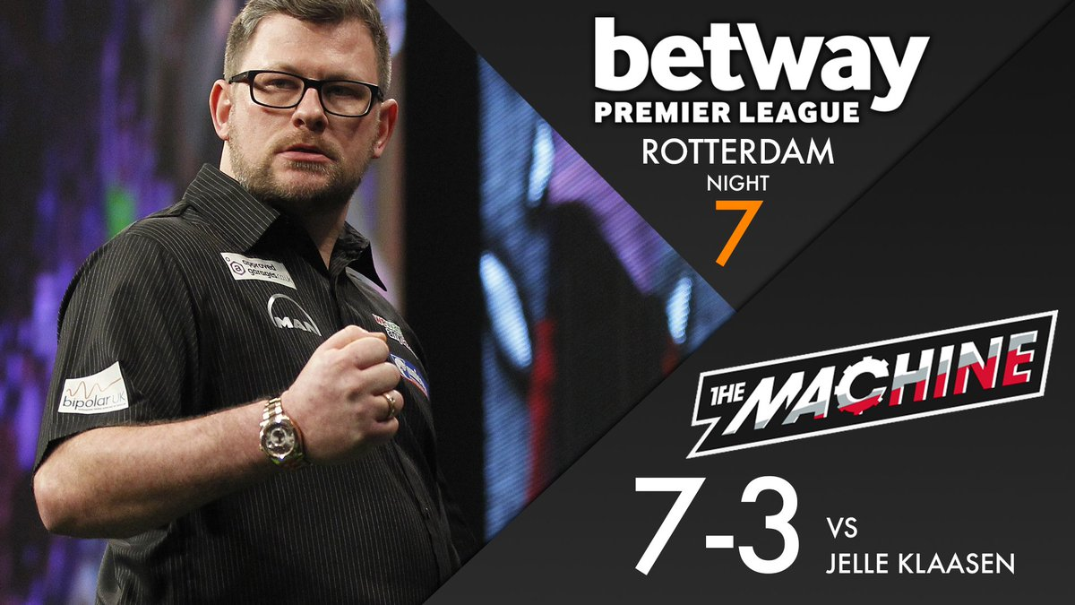 WINNER! James Wade upsets the home crowd as he comfortably beats Jelle...