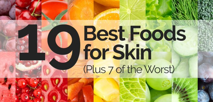 19 Best Foods For Skin (Plus 7 of the Worst)