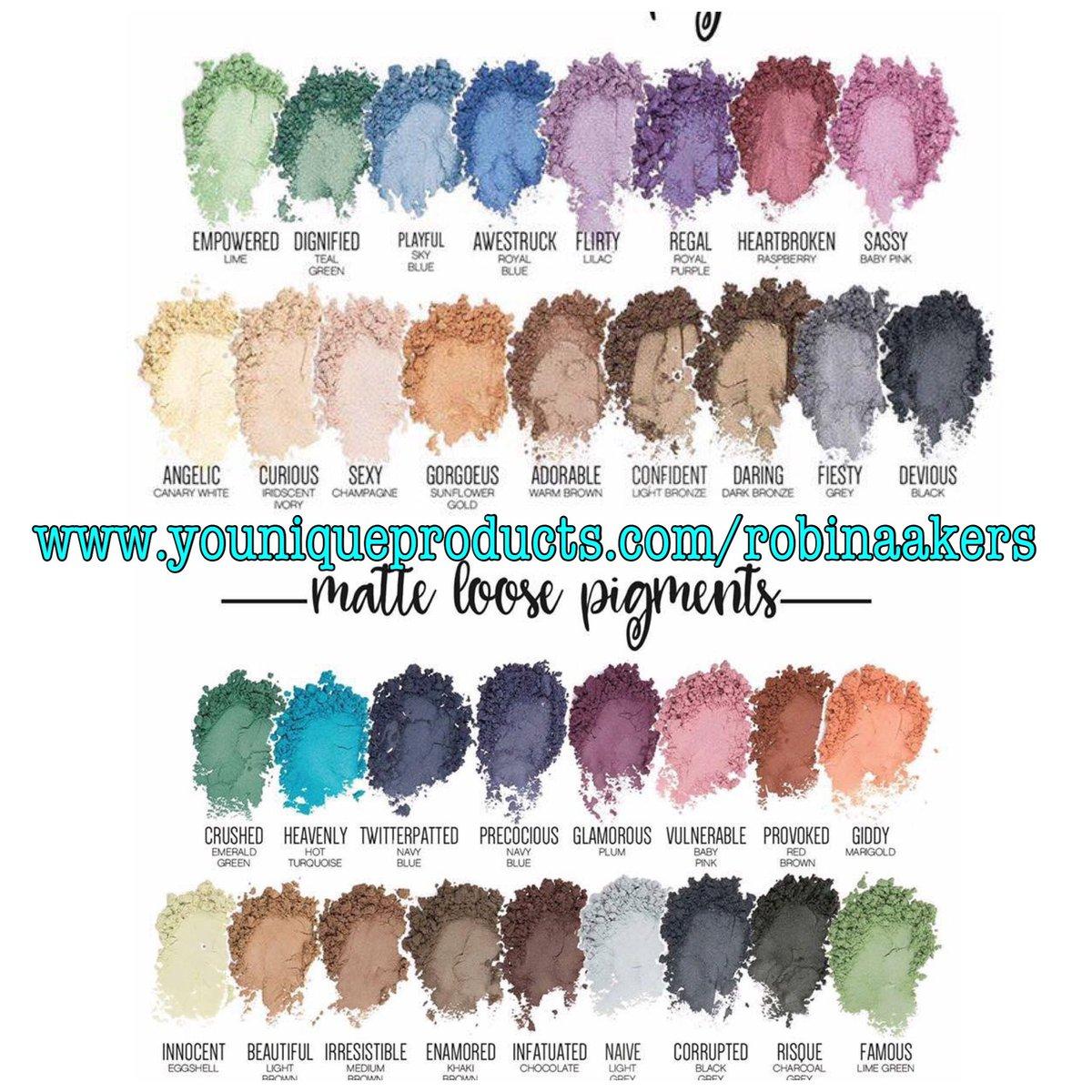Shimmer &amp; Matte Pigments #Makeup #EyeShadow #Shimmer #Matte #Pigments<br>http://pic.twitter.com/qrRpnYSCIm
