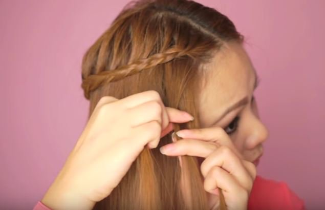 Two Tier Lace Braids Hair Tutorial