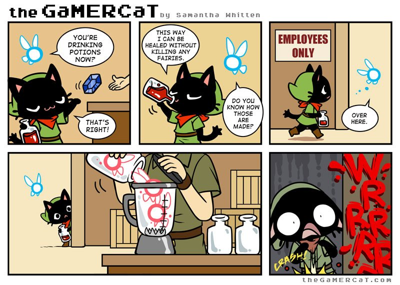 Gamer Cat Glitch S Mom