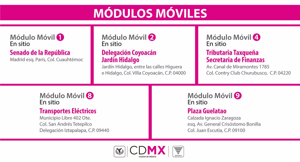 Secretaría De Movilidad Cdmx On Twitter Nos Encontramos