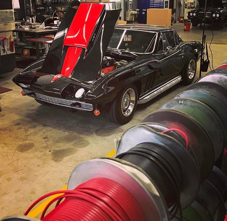 Amazing Galpin Auto Sports On Twitter Clean Corvette In The Shop For A Wiring Database Cominyuccorg