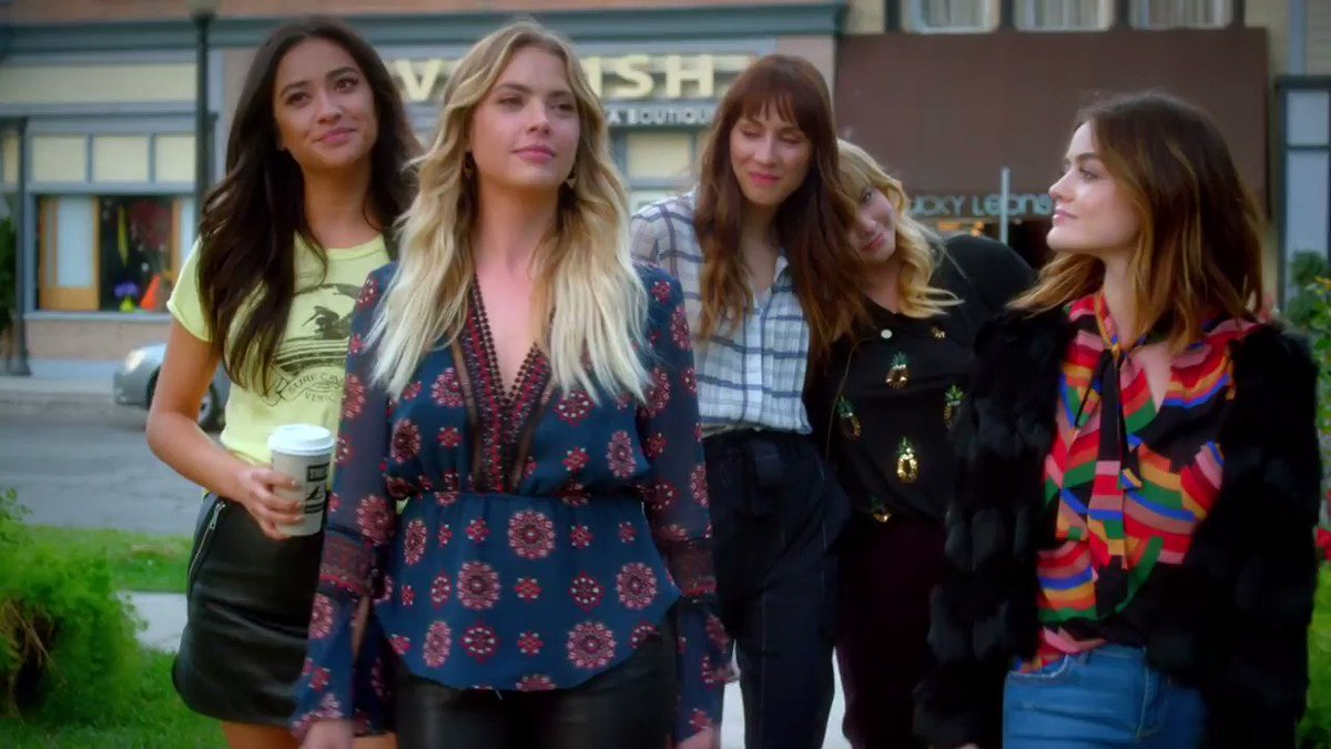 The best part about the #FirstDayOfSpring is that we're THAT much closer to #PLLEndGame.