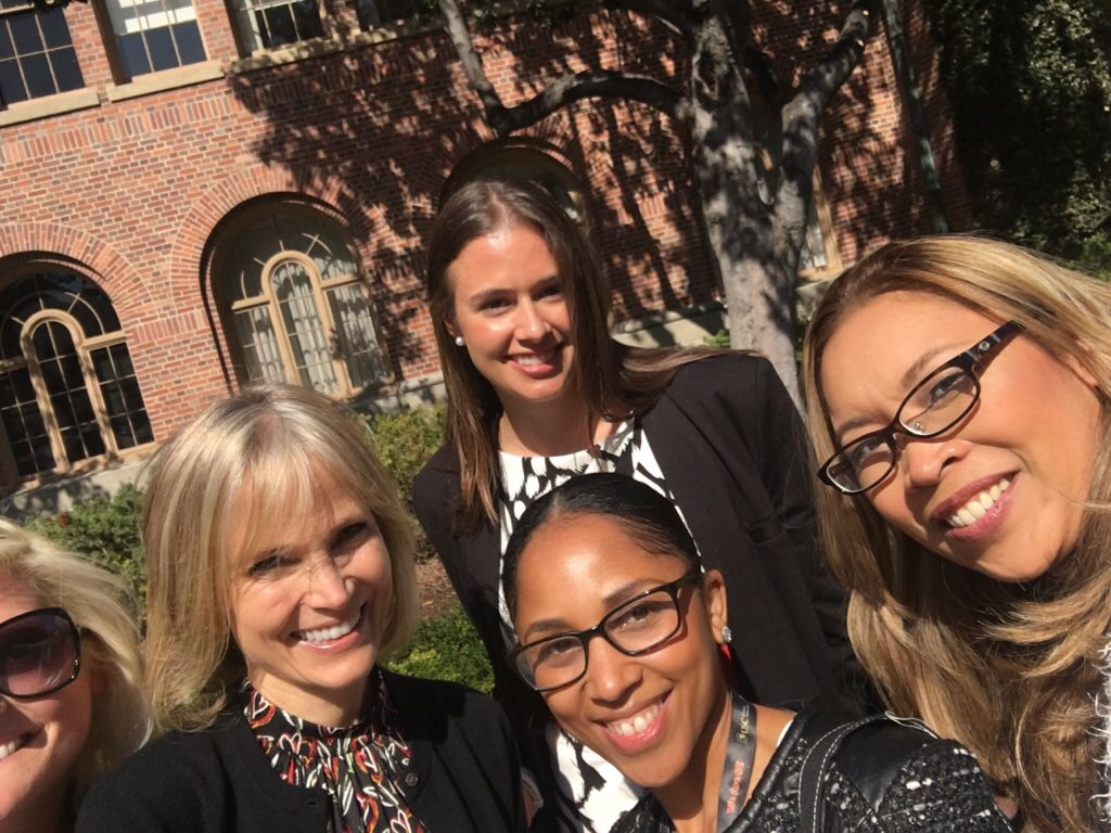 #USCWC #selfie with newly appointed @USCAnnenberg Dean Willow Bay. https://t.co/EvUAc9jjyj