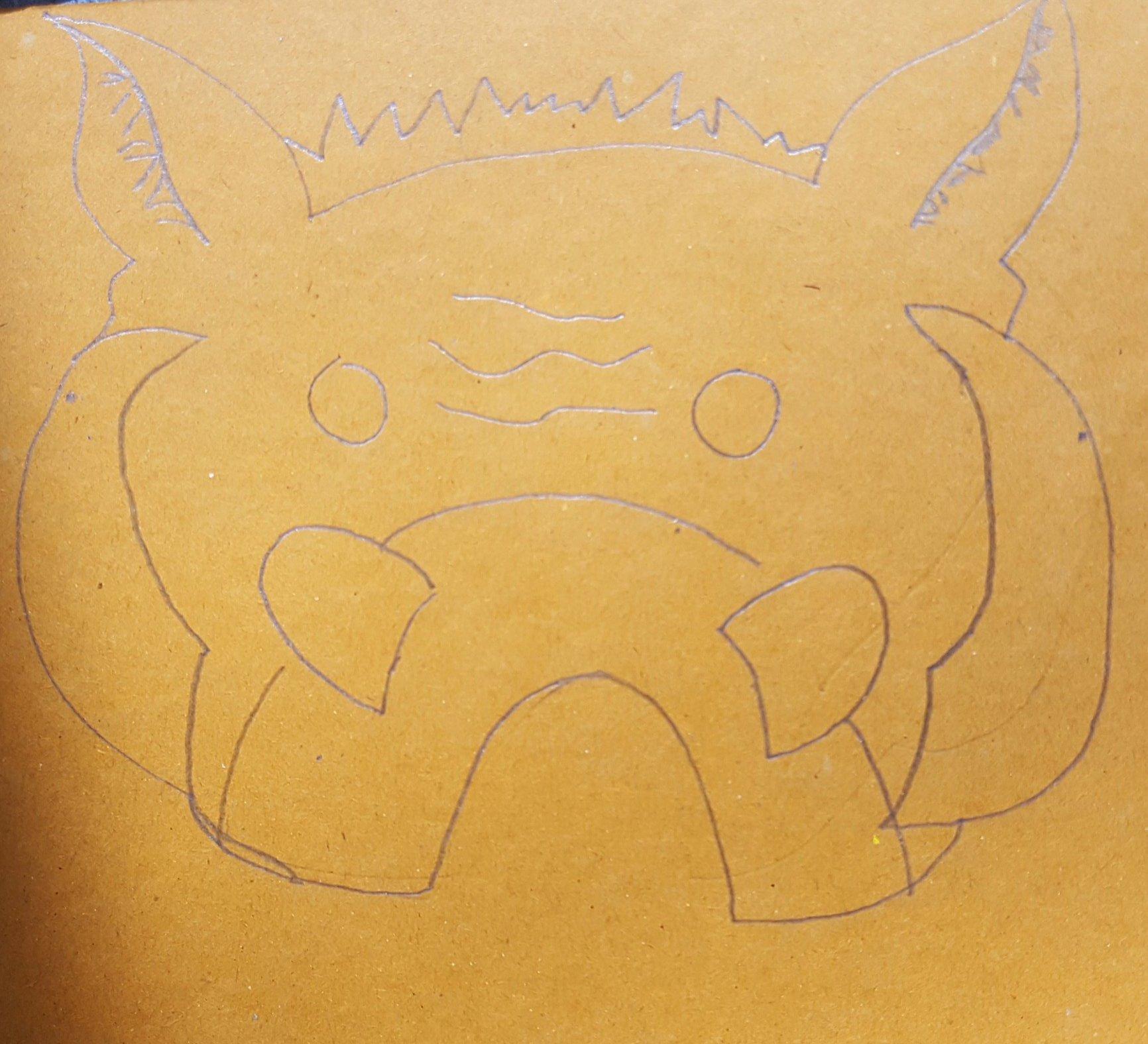 Making a kunekune mask. #edchatnz#creativity  @petermillett https://t.co/R7ee23gE16