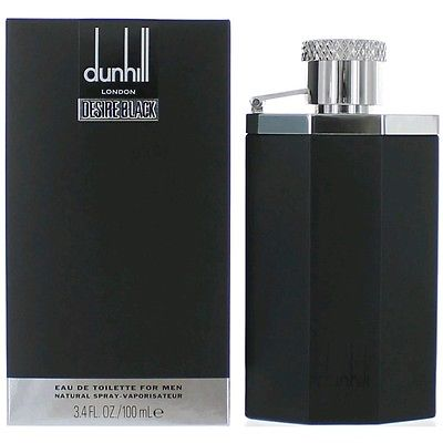 Desire Black Cologne by Alfred Dunhill, 3.4 oz EDT Spray for Men NEW