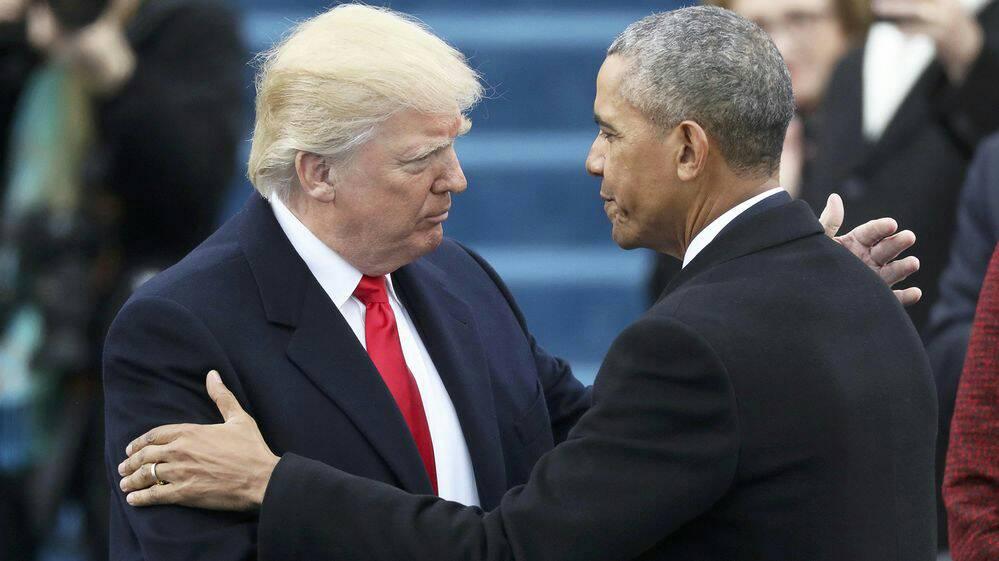 El Senado de #EEUU aseguró que no hay evidencias de las denuncias de espionaje de #Donald Trump contra #Barack Obama <br>http://pic.twitter.com/9AiKXvgw9e