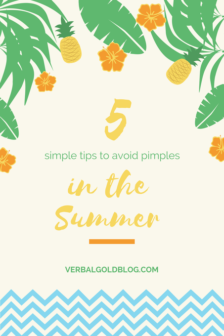 5 Simple Tips To Avoid Pimples In Summer