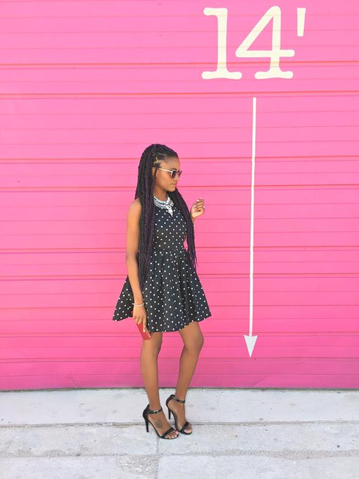 Call Me Darling Black and White Dot Dress