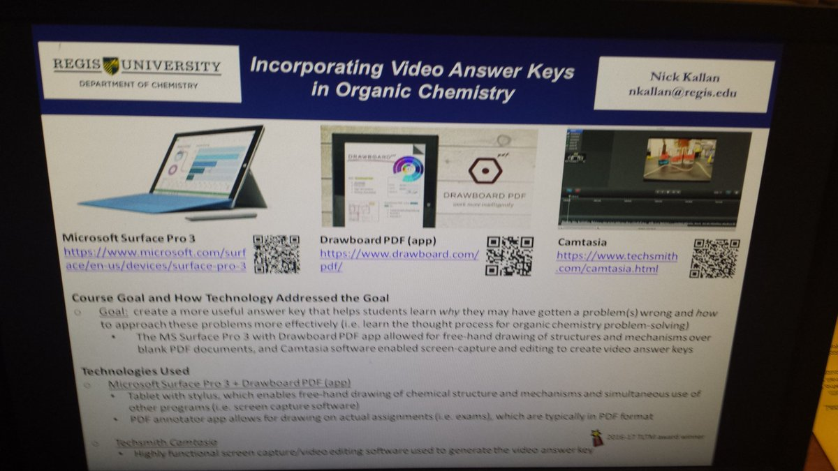 kzenovka on twitter incorporating video answer keys in organic kzenovka on twitter incorporating video answer keys in organic chemistry from regis id t fair t co 0uiz03xywl elcc edtech