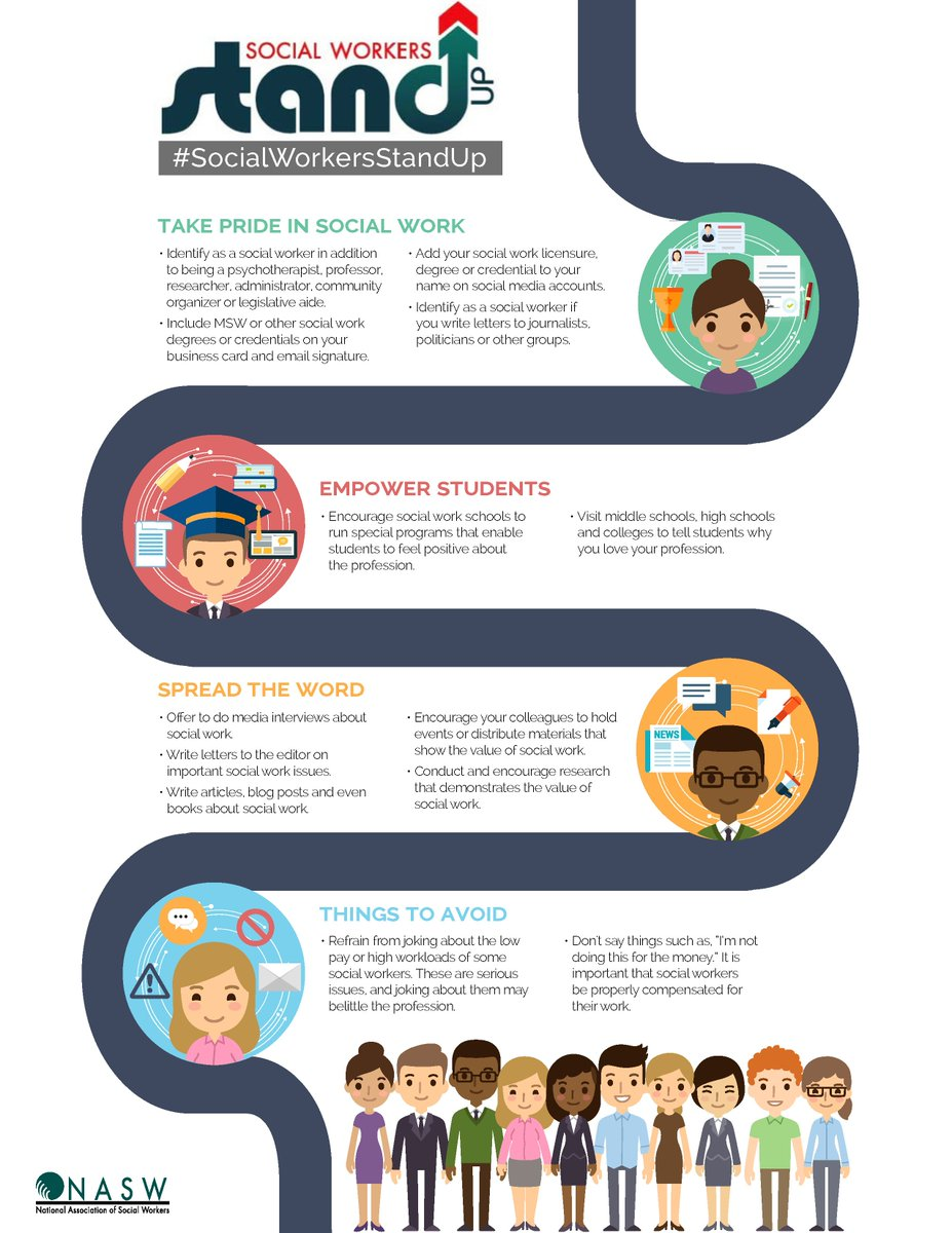 Nasw on twitter a1 we have an infographic with tips on how social nasw on twitter a1 we have an infographic with tips on how social workers can stand up for or advocate for profession swstandup macrosw colourmoves